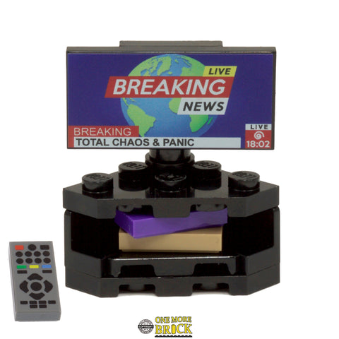 Corner TV / Television - Breaking News!