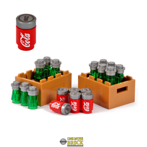 Drinks Crates + Beer / Cans