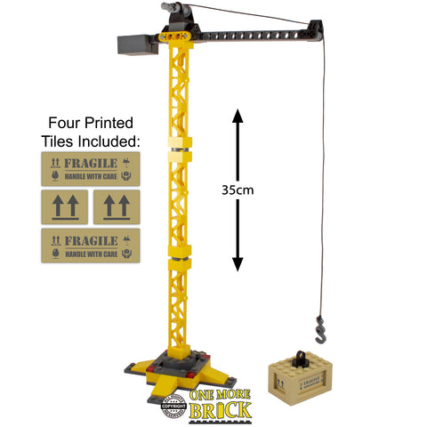 Lego Construction Crane with Crate