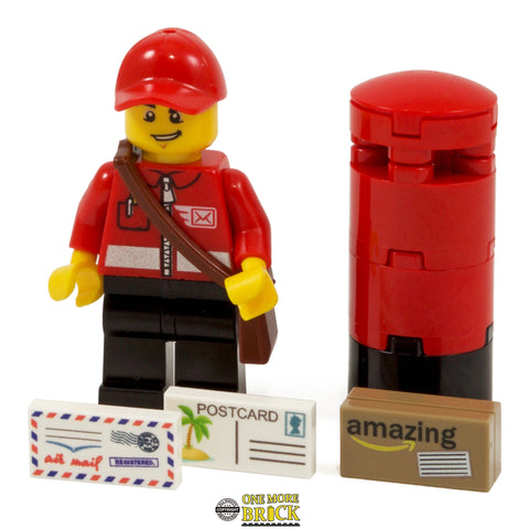 Postman with Post box