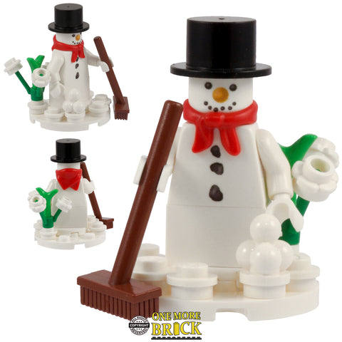 Snowman with base & printed Head/Torso