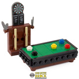 Pool Table & Darts Board