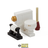 Bathroom Set - Inc Shower, Bath & Toilet