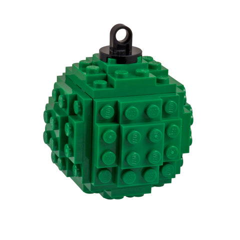 Lego Bauble - Green