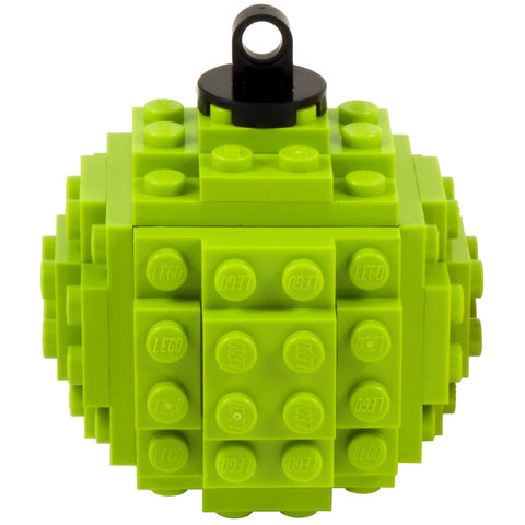Lego Bauble - Lime