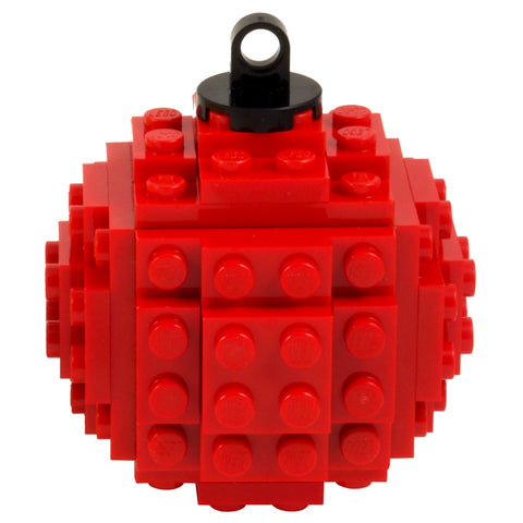 Lego Bauble - Red