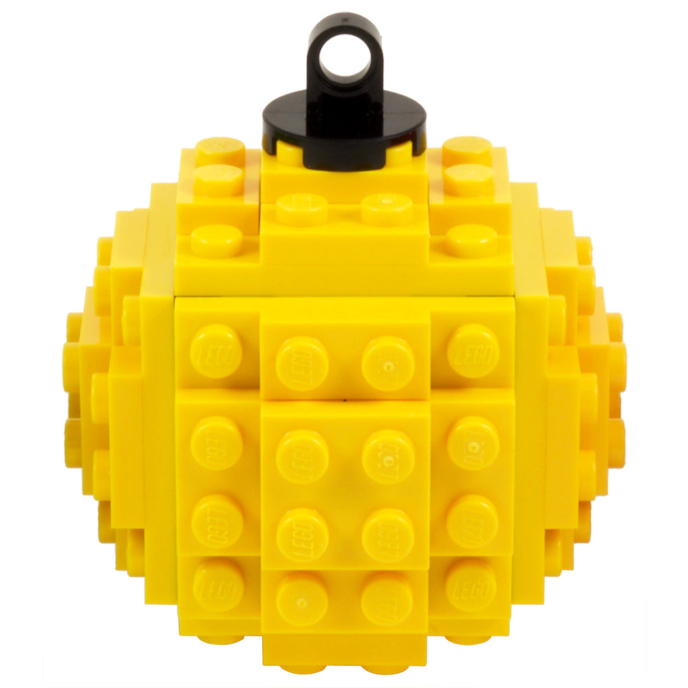 Lego Bauble - Yellow
