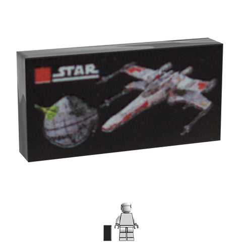 <small><sup>AA-005</small></sup><br>LEGO Box - X-Wing<br>1x2 Tile
