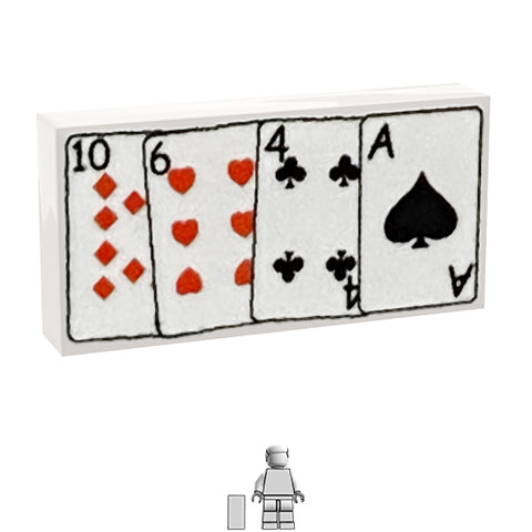 <small><sup>PAM-04</small></sup><br>Playing Cards<br>1x2 Tile
