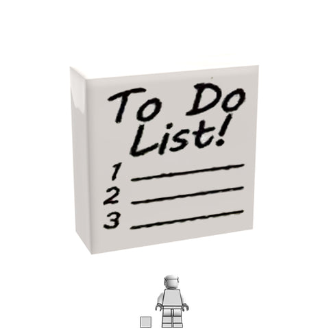 <small><sup>PAM-05</small></sup><br>To Do List<br>1x1 Tile
