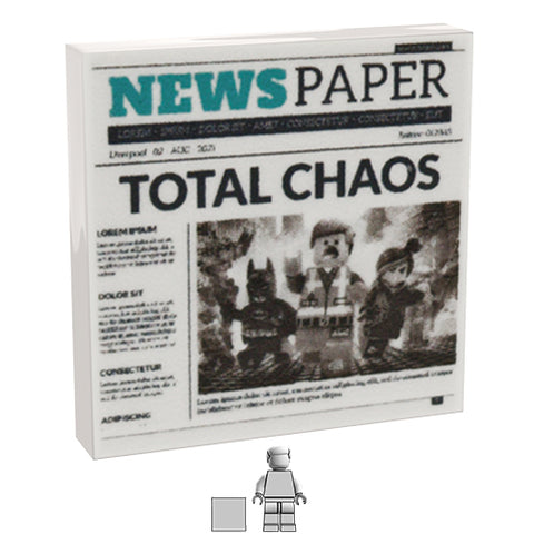 <small><sup>PAN-01</small></sup><br>Newspaper - Chaos<br>2x2 Tile