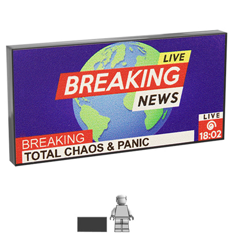 <small><sup>DA-025</small></sup><br>Breaking News TV<br>2x4 Tile