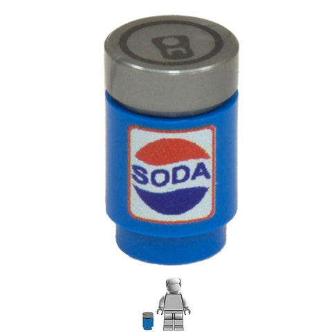 <small><sup>EA-027</small></sup><br>Soda Can<br>1x1 Brick & Tile