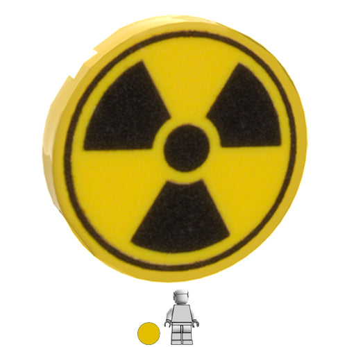 <small><sup>GG-047</small></sup><br>Radiation Sign<br>2x2 Tile