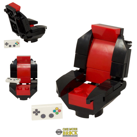 Red Gaming Chair with Keypad
