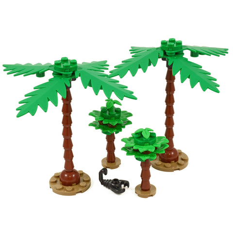 Palm Trees - Pack of 4