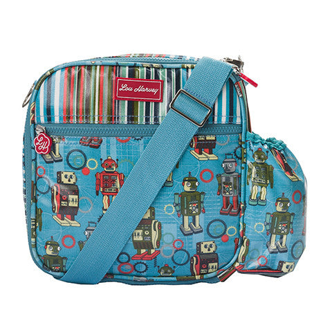 Lou Harvey Lunch Sling - Robot/Downey Stripe - Lou Harvey Australia