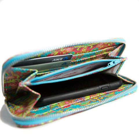 Lou Harvey Zip Wallet - Indian Summer - Lou Harvey Australia