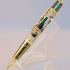 Sierra Twist  Ballpoint Vineyard Inlay Pen