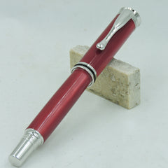 Ladies Retro Rhodium Rollerball