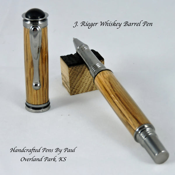 Jr. Retro, RB, J. Rieger Whiskey Barrels, finished with gun metal