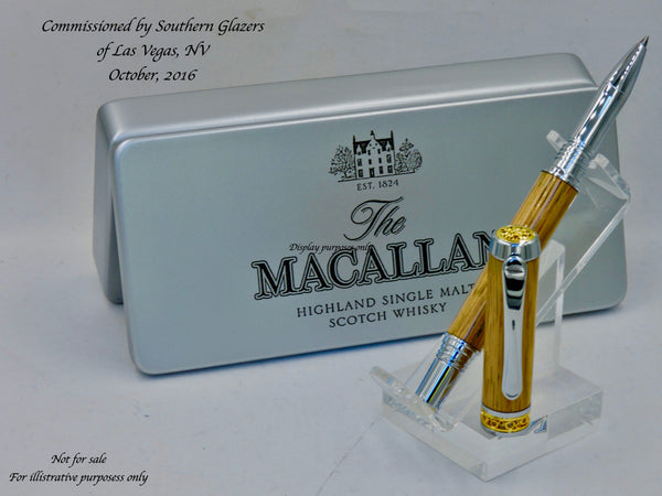 Jr. Emperor. Macallan Scotch Barrel Pen