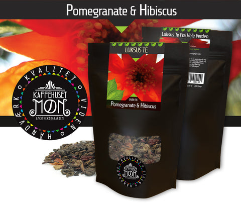 Pomegranate & Hibiscus Gunpowder Green