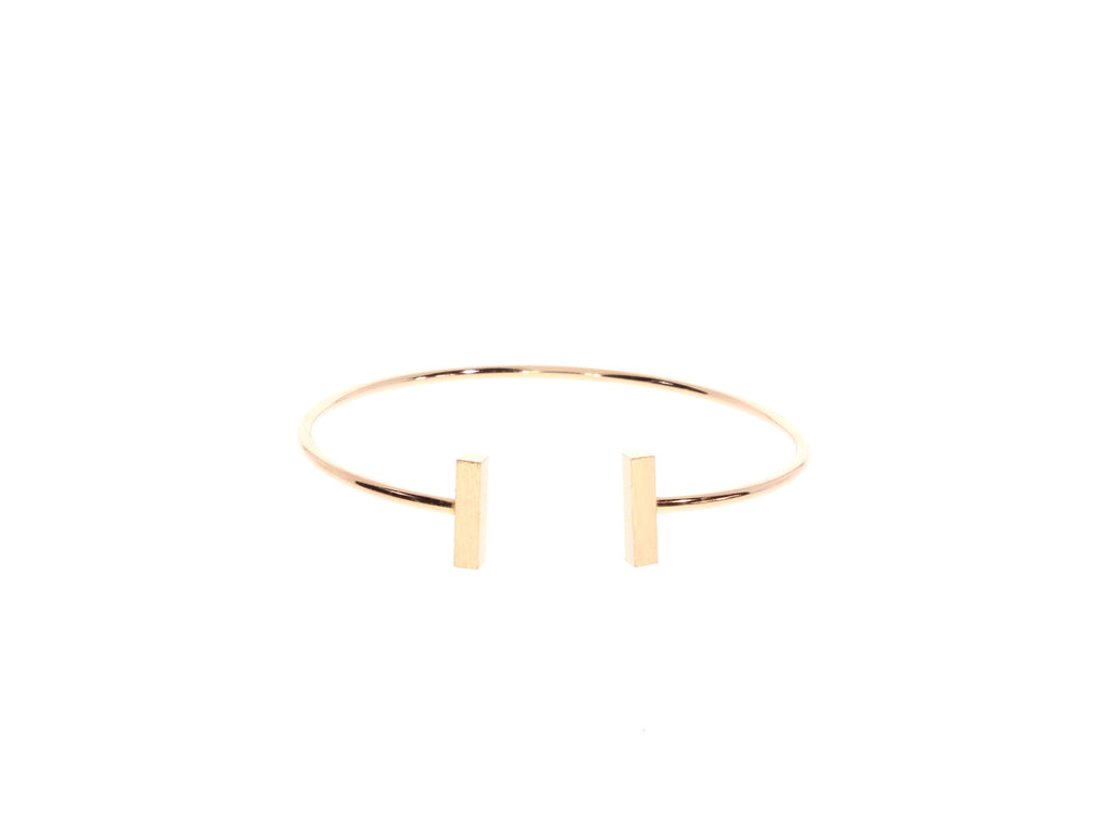 Zoeca Rose Gold Stick Bangle