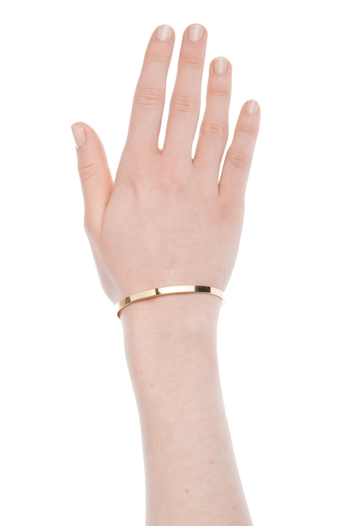 TomShot Bangle Gold Bracelet