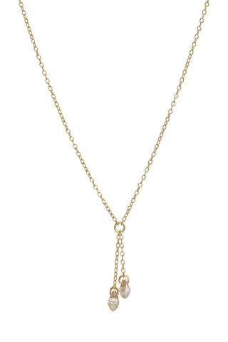 TomShot Gold Swarovski Necklace