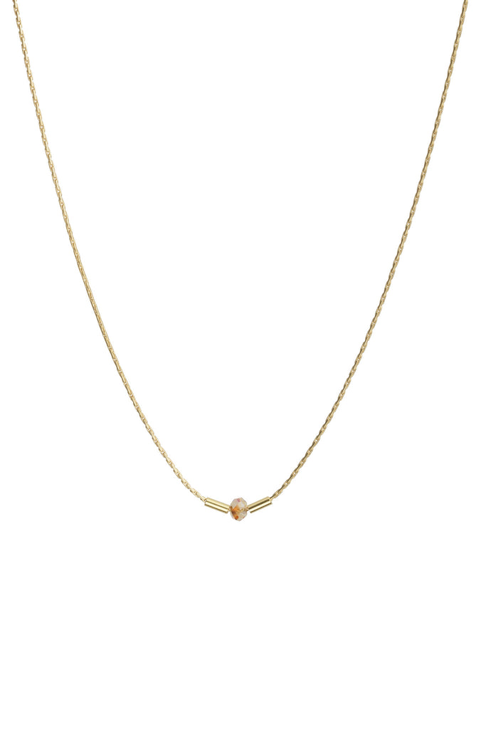 TomShot Crystal Chain Necklace