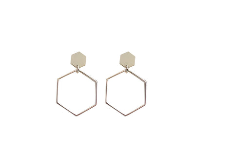 Gisel B Alveole Earrings via Audaviv