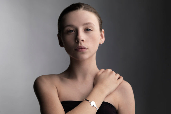 Audaviv Shop: Microdot Silver Bracelet by Louise Kragh