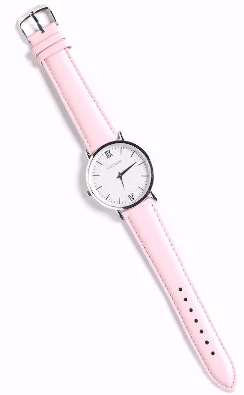 blush pink watch