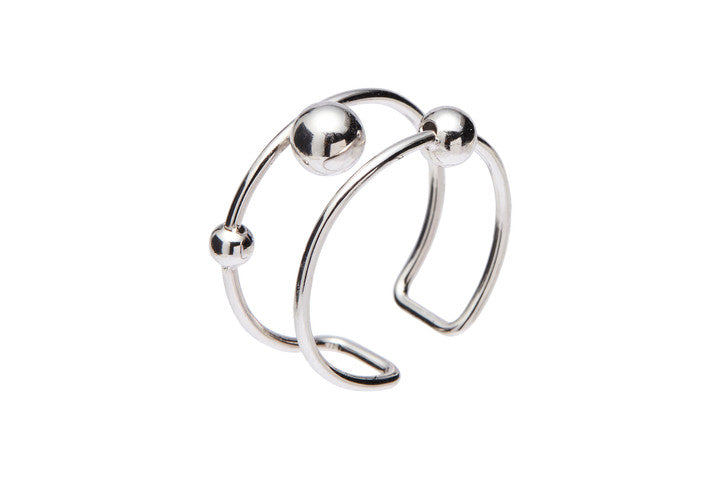 Louise Kragh Sphere Ring Silver