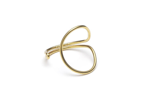 Audaviv Shop: Enamel Gold Ring by Louise Kragh