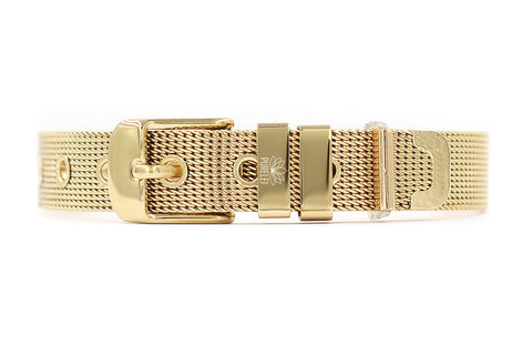 PURELEI Gold Mesh Band