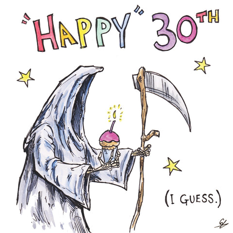 """Happy"" 30th (I guess)"