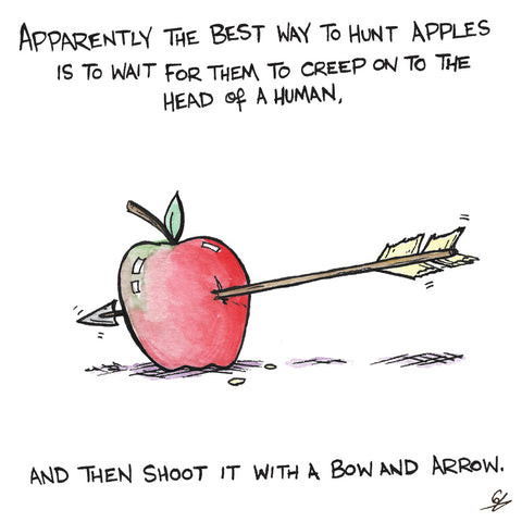 How to Hunt Apples