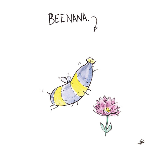 It's a Banana that looks like a Bee. It's a Beenana.