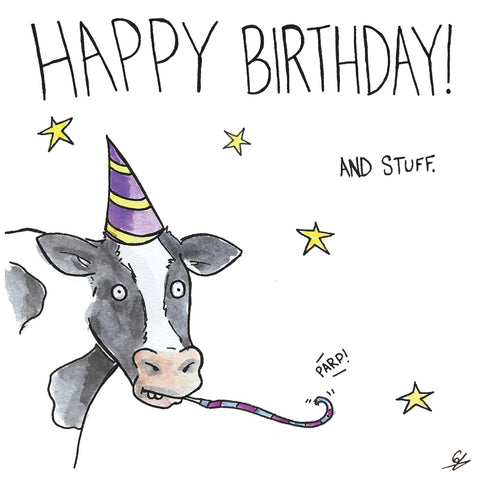 Happy Birthday Cow (and stuff)