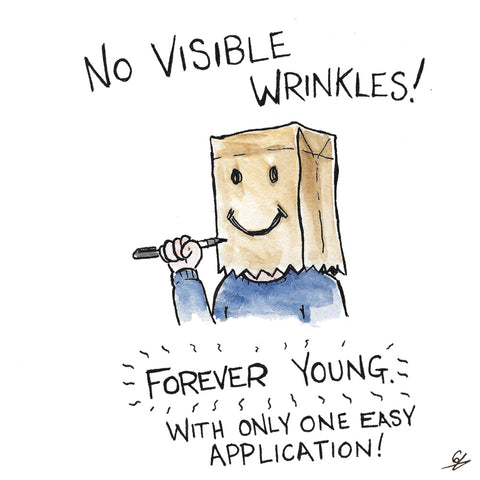 No Visible Wrinkles!