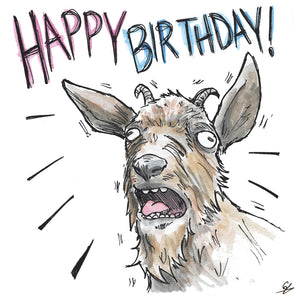 Screaming Goat - Happy Birthday!