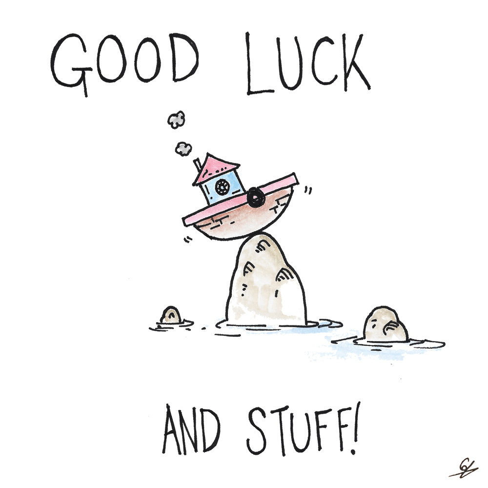 Good Luck and stuff!