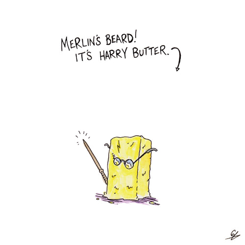 Merlin's Beard! It's Harry Butter