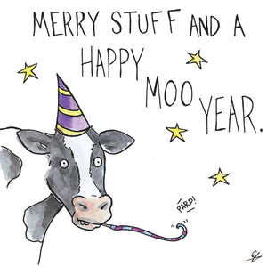 Merry Stuff and a Happy Moo Year