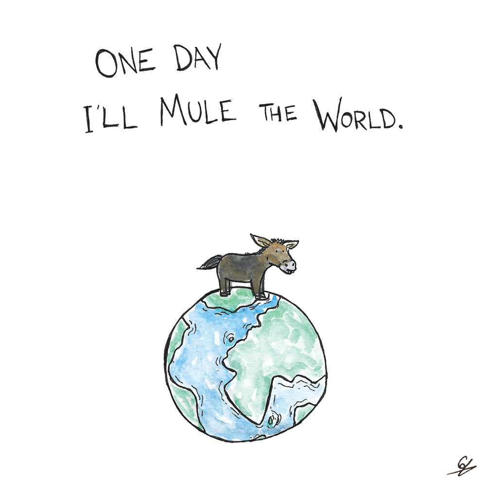 One Day I'll Mule The World