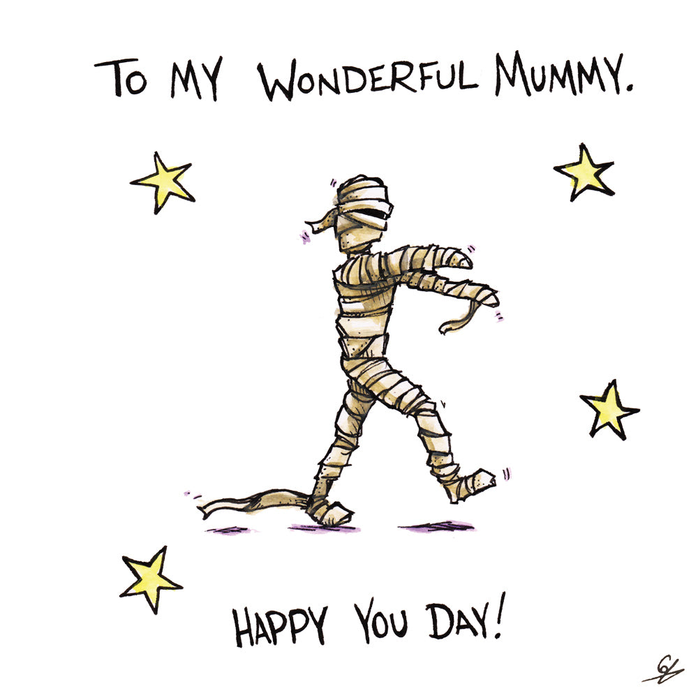 To my wonderful Mummy. Happy you day!