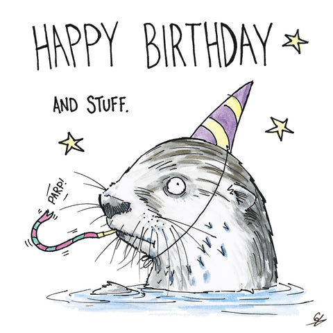 Otter Birthday