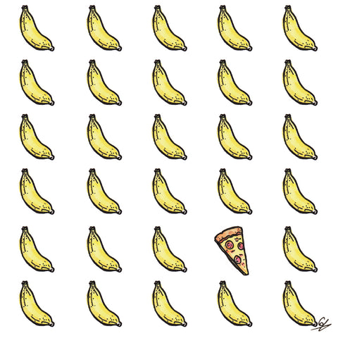 Bananas and Pizza